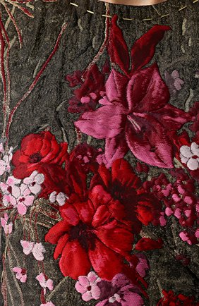 Жаккардовое мини-платье без рукавов Dolce & Gabbana розовое | Фото №5