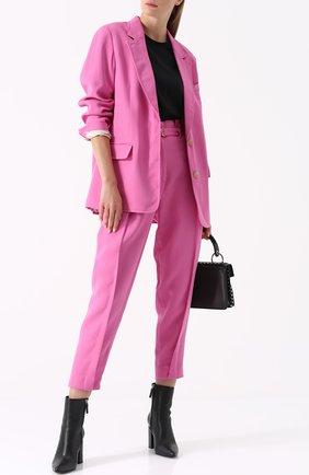 Жакет прямого кроя на одной пуговице 3.1 Phillip Lim розовый | Фото №1