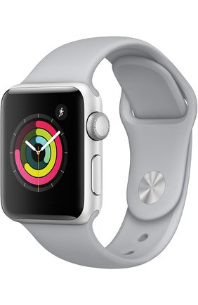 Смарт-часы Apple Watch Series 3 (GPS) 38mm Silver Aluminum Case with Fog Sport Band | Фото №1