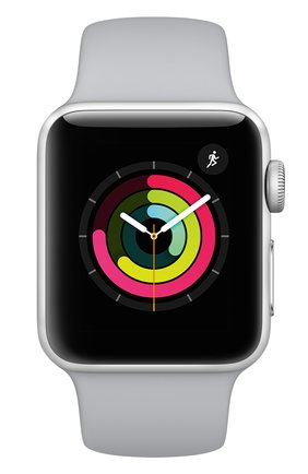 Смарт-часы Apple Watch Series 3 (GPS) 38mm Silver Aluminum Case with Fog Sport Band | Фото №2