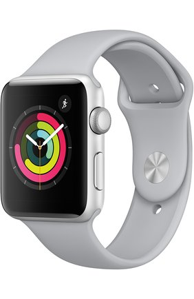 Смарт-часы Apple Watch Series 3 (GPS) 42mm Silver Aluminum Case with Fog Sport Band | Фото №1