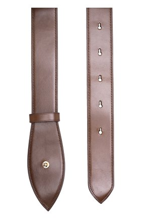 Кожаный ремень Simone Rocha коричневый | Фото №1