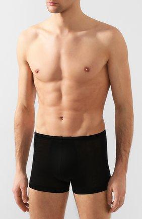 Мужские хлопковые боксеры ZIMMERLI черного цвета, арт. 252-8851 | Фото 2