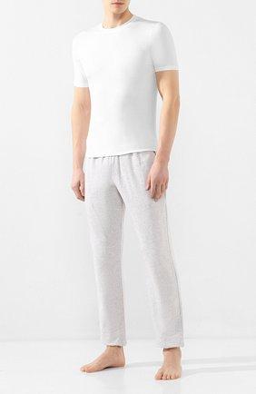 Мужские футболка ZIMMERLI белого цвета, арт. 700-1341 | Фото 2