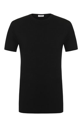 Мужская футболка ZIMMERLI черного цвета, арт. 700-1341 | Фото 1