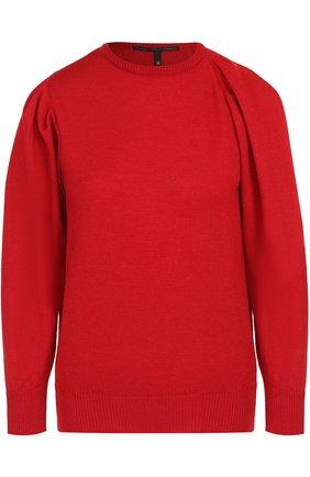 Пуловер из смеси шерсти и шелка с кашемиром | Фото №1