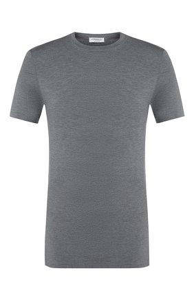 Мужские футболка ZIMMERLI серого цвета, арт. 700-1341 | Фото 1