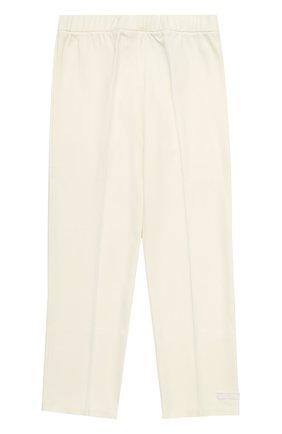 Трикотажные брюки прямого кроя | Фото №1