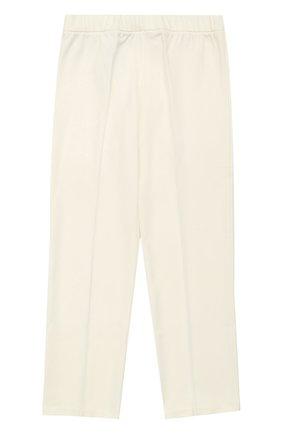 Трикотажные брюки прямого кроя | Фото №2
