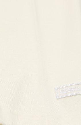 Трикотажные брюки прямого кроя | Фото №3