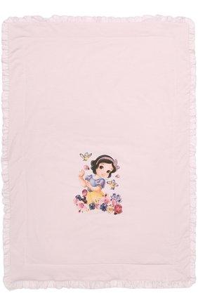 Одеяло с принтом и стразами   Фото №1