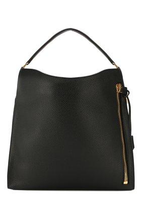 Женская сумка-тоут alix TOM FORD черного цвета, арт. L0803T-CD6   Фото 1