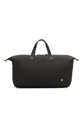 Мужская текстильная дорожная сумка LORO PIANA черного цвета, арт. FAF6679 | Фото 1