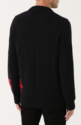 Шерстяной свитер с отделкой | Фото №4
