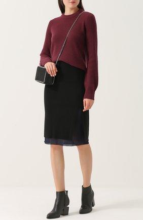 Шерстяная юбка-миди Rag&Bone черная | Фото №1