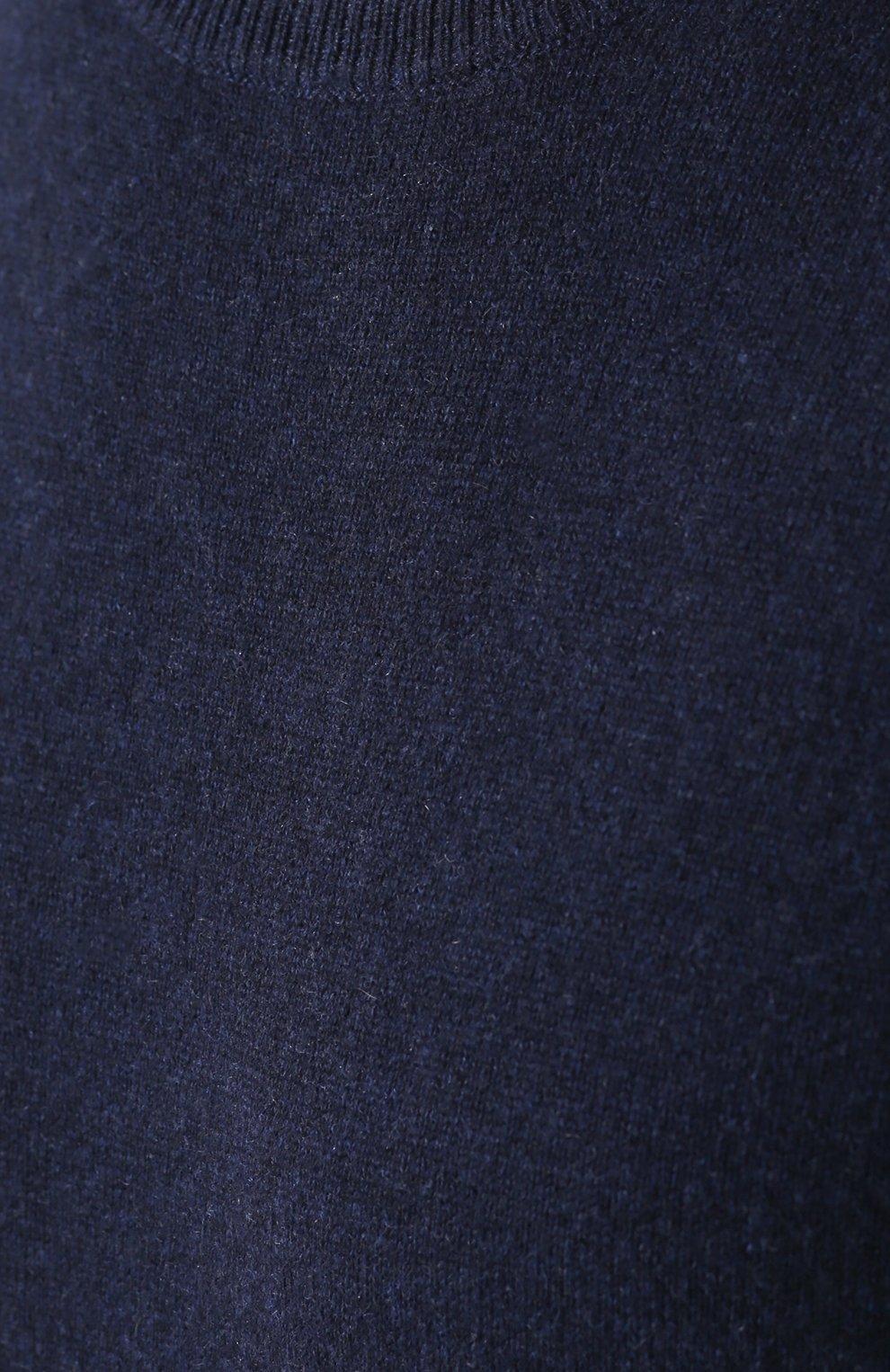 Кашемировый джемпер тонкой вязки | Фото №5