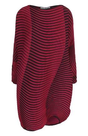 Мини-платье свободного кроя с длинным рукавом | Фото №1