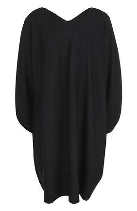 Платье свободного кроя с V-образным вырезом | Фото №1