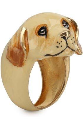 Фигурное кольцо Dolce & Gabbana золотое   Фото №1