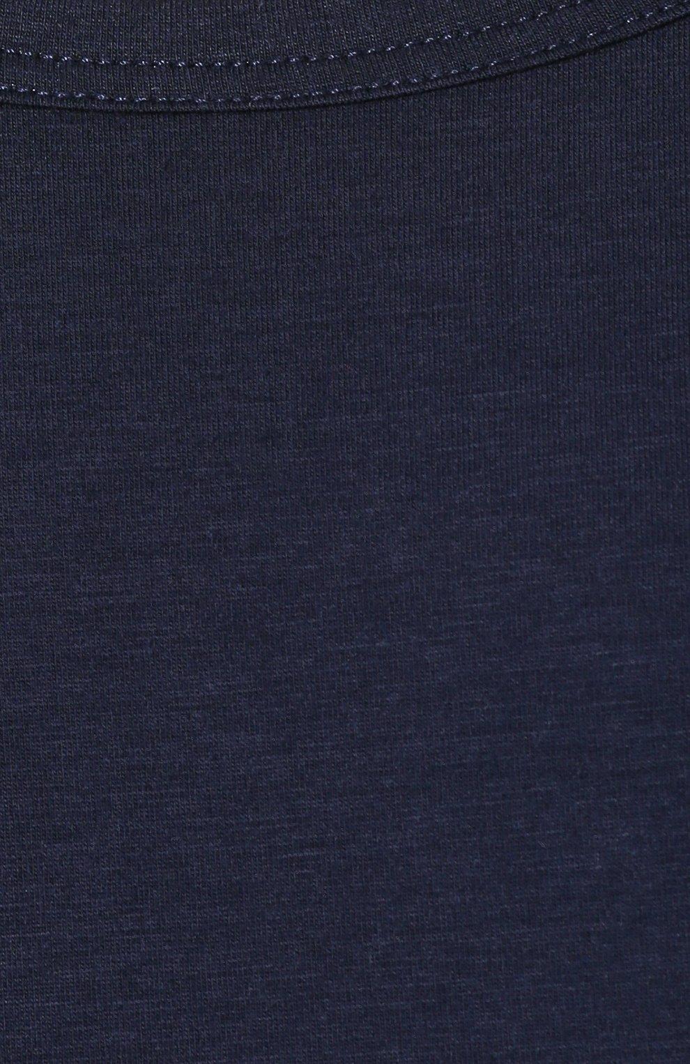 Мужская хлопковая футболка с круглым вырезом ZIMMERLI темно-синего цвета, арт. 172-1461 | Фото 5 (Кросс-КТ: домашняя одежда; Рукава: Короткие; Длина (для топов): Стандартные; Материал внешний: Хлопок; Мужское Кросс-КТ: Футболка-белье; Статус проверки: Проверена категория)