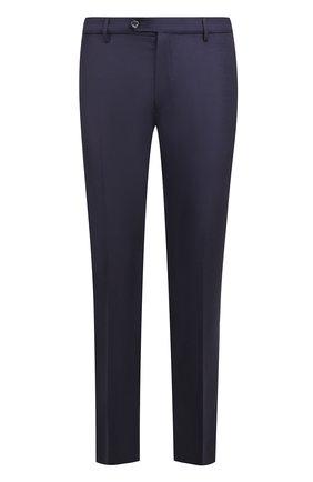 Мужской шерстяные брюки BERWICH темно-синего цвета, арт. SC/1ALC/VB5991 | Фото 1