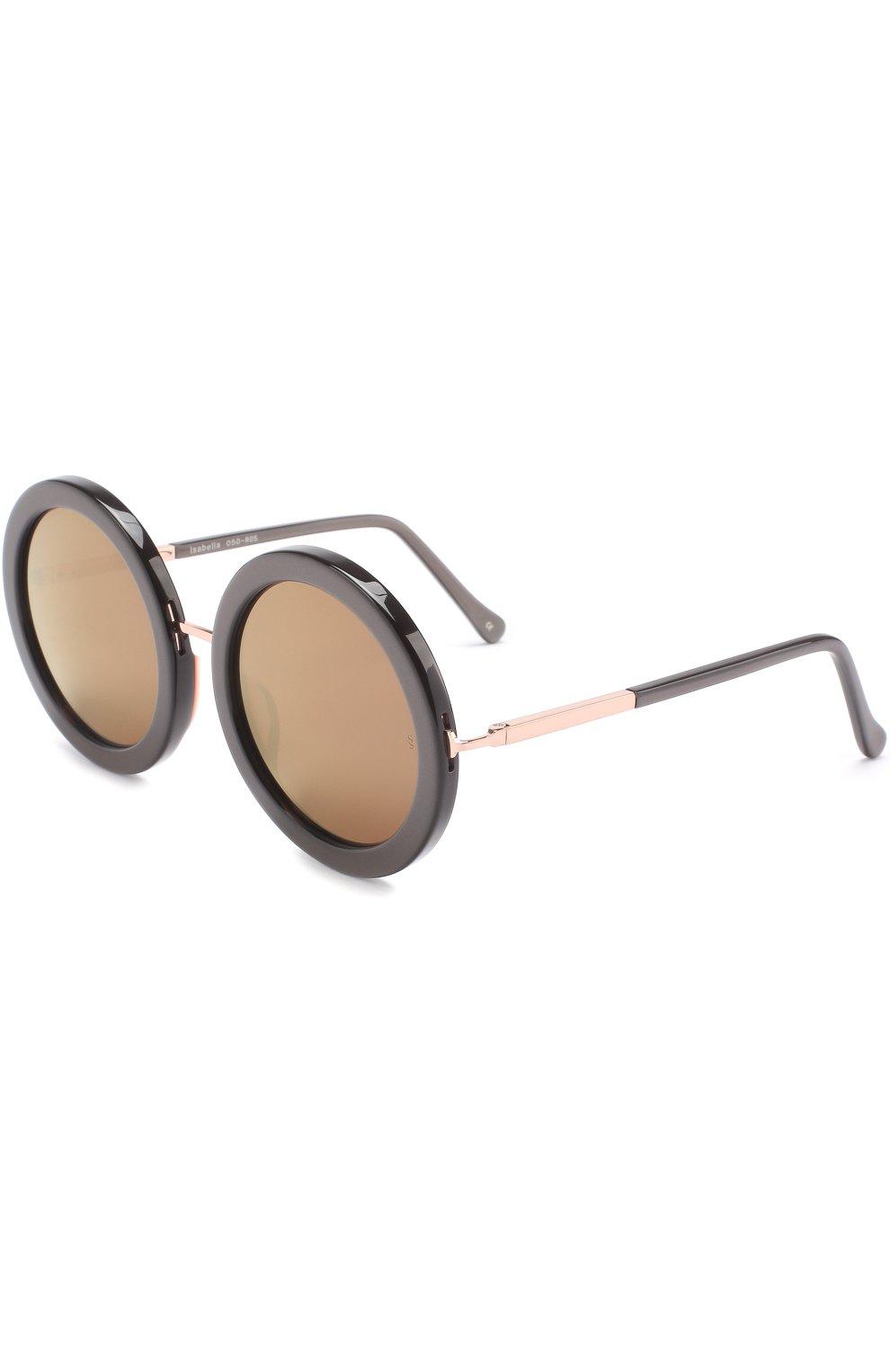 Женские солнцезащитные очки SUNDAY SOMEWHERE черного цвета, арт. ISABELLA-R0S | Фото 1