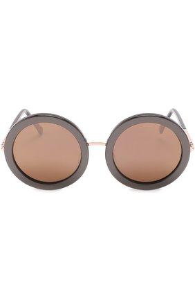 Женские солнцезащитные очки SUNDAY SOMEWHERE черного цвета, арт. ISABELLA-R0S | Фото 3