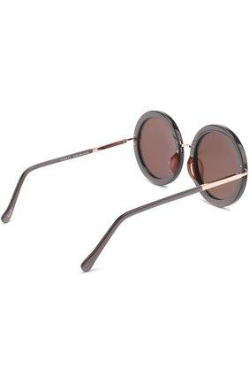Женские солнцезащитные очки SUNDAY SOMEWHERE черного цвета, арт. ISABELLA-R0S | Фото 4