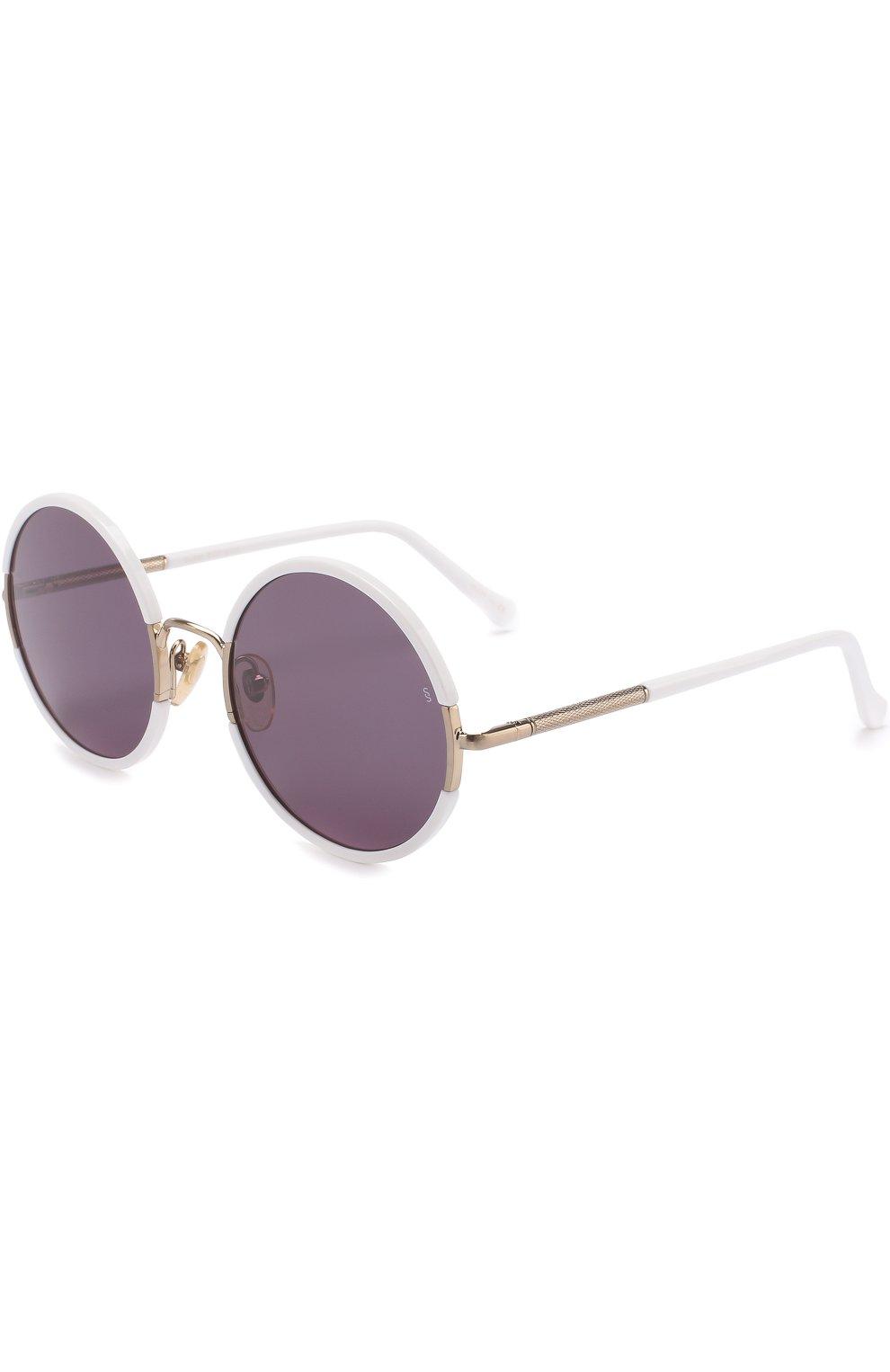 Женские солнцезащитные очки SUNDAY SOMEWHERE белого цвета, арт. YETTI-WHT | Фото 1