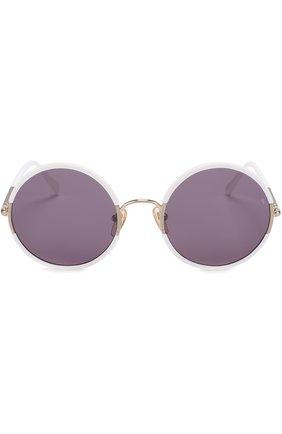 Женские солнцезащитные очки SUNDAY SOMEWHERE белого цвета, арт. YETTI-WHT | Фото 3