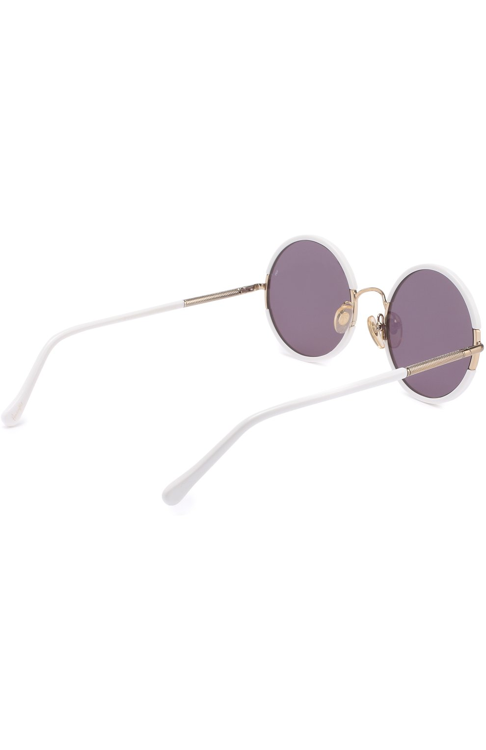 Женские солнцезащитные очки SUNDAY SOMEWHERE белого цвета, арт. YETTI-WHT | Фото 4