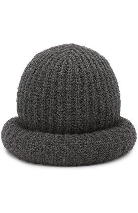 Шерстяная шляпа фактурной вязки | Фото №1