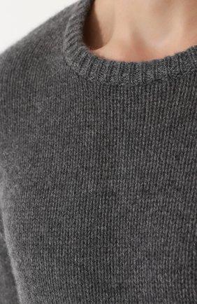 Кашемировый джемпер свободного кроя | Фото №5