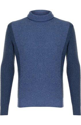 Кашемировый свитер с воротником-стойкой | Фото №1