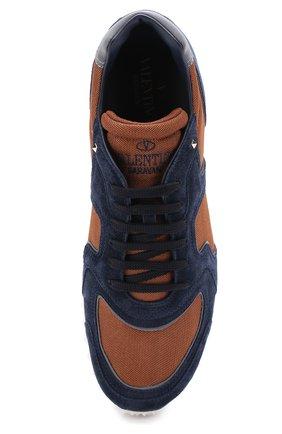 a38d256890cd Комбинированные кроссовки Valentino Garavani Soul AM на шнуровке   Фото №5
