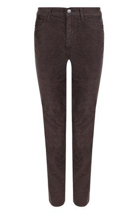 Укороченные вельветовые джинсы | Фото №1