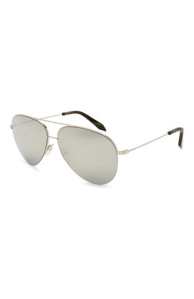Женские солнцезащитные очки VICTORIA BECKHAM серебряного цвета, арт. S90 C07 | Фото 1