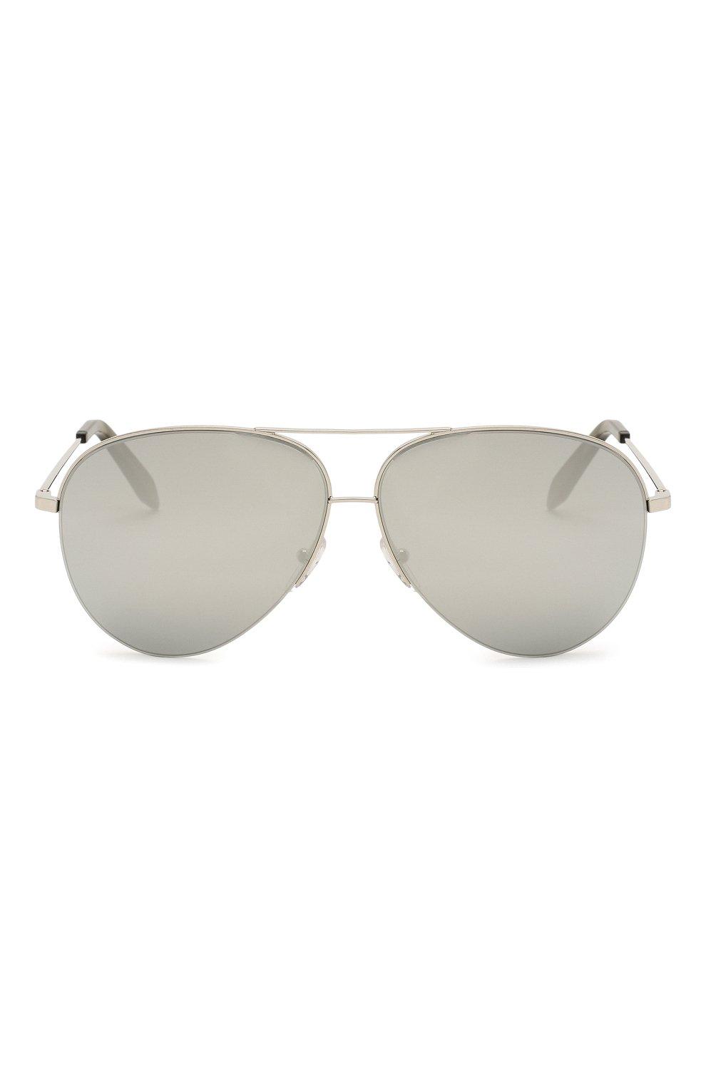 Женские солнцезащитные очки VICTORIA BECKHAM серебряного цвета, арт. S90 C07 | Фото 3