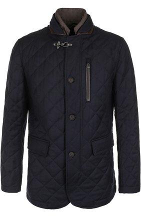 Шерстяная куртка на молнии с подстежкой | Фото №1