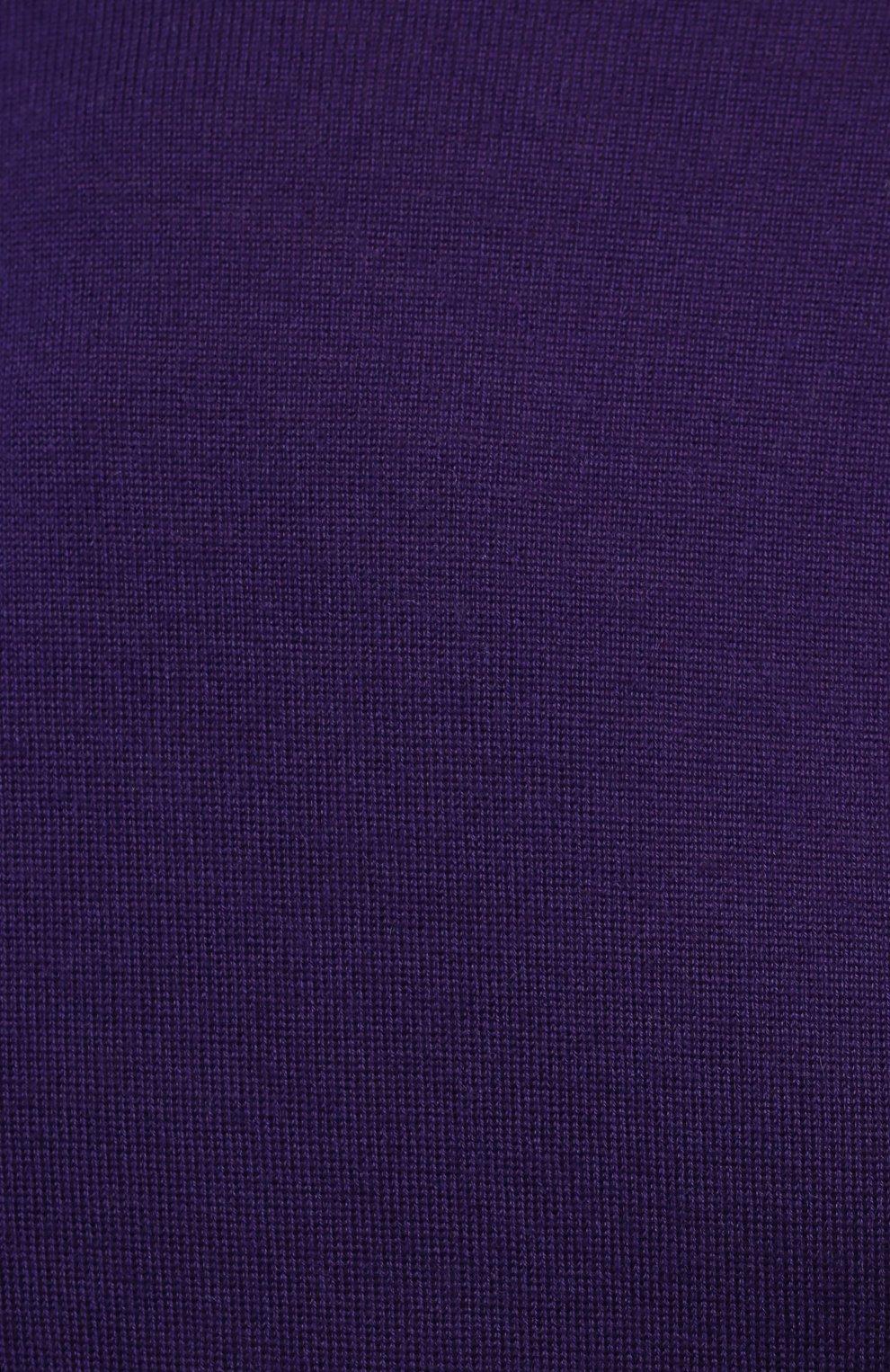 Женская кашемировая водолазка RALPH LAUREN фиолетового цвета, арт. 290615195 | Фото 5