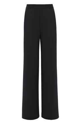 Расклешенные хлопковые брюки с карманами | Фото №1