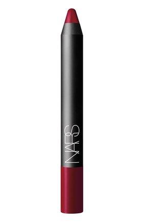 Матовый карандаш для губ, оттенок Mysterious Red NARS | Фото №1