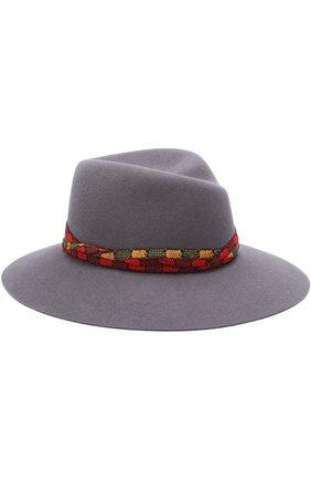 Фетровая шляпа Virginie с тесьмой | Фото №1