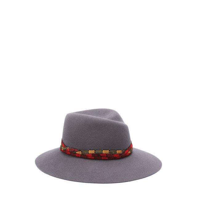 Фетровая шляпа Virginie с тесьмой Maison Michel