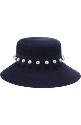 Фетровая шляпа New Kendall с декорированной лентой | Фото №1