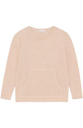 Пуловер с карманом | Фото №1