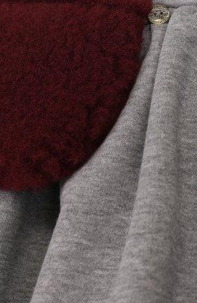 Юбка джерси свободного кроя с декоративным карманом | Фото №3