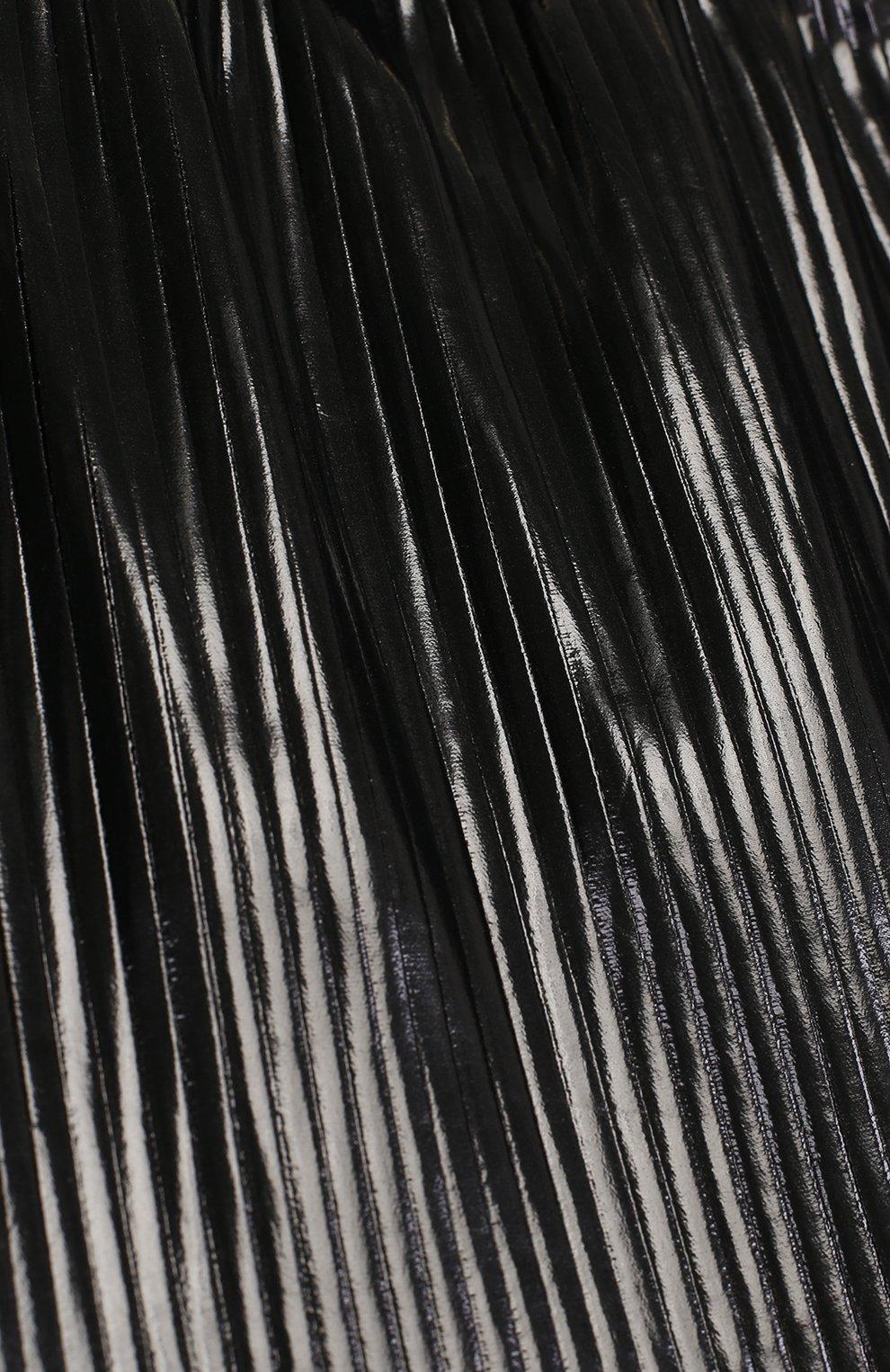 Юбка с плиссировкой и широким поясом   Фото №3