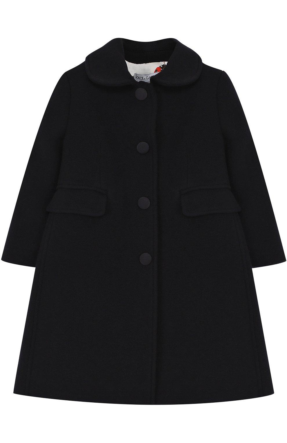 Однобортное приталенное пальто из шерсти и кашемира | Фото №1