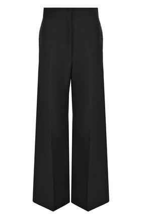 Шерстяные расклешенные брюки со стрелками | Фото №1